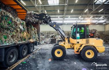 Our services poland: safe handling of RDF waste in pre-processing facility