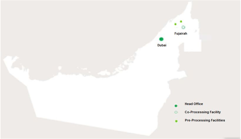 UAE Geocycle Map